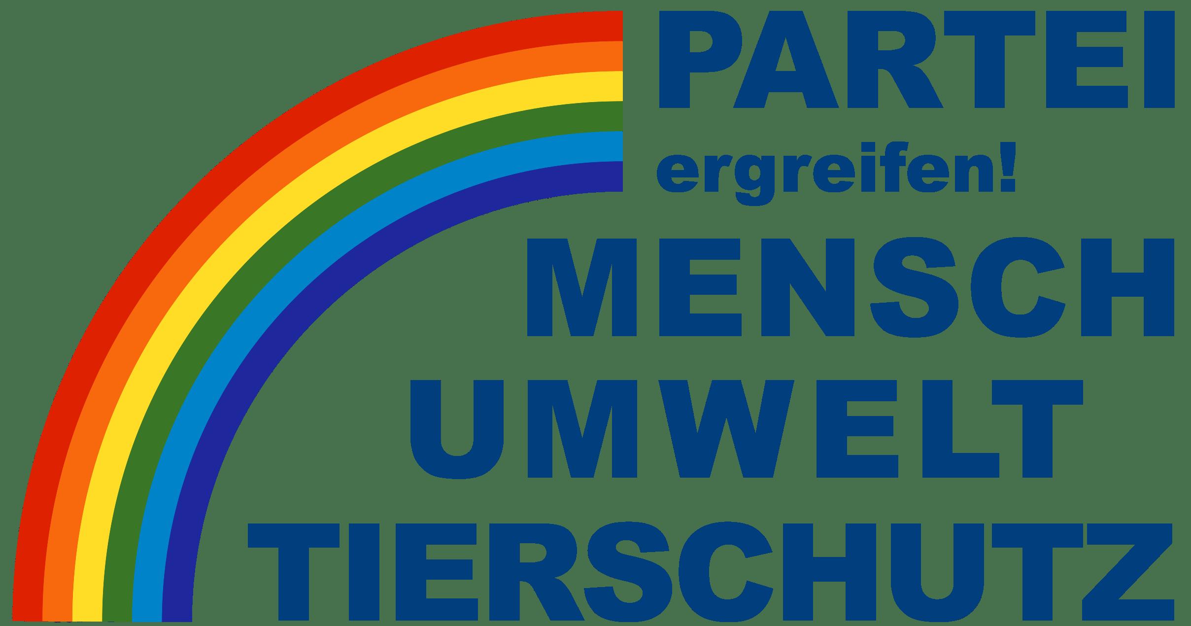 Partei Mensch Umwelt Tierschutz Logo