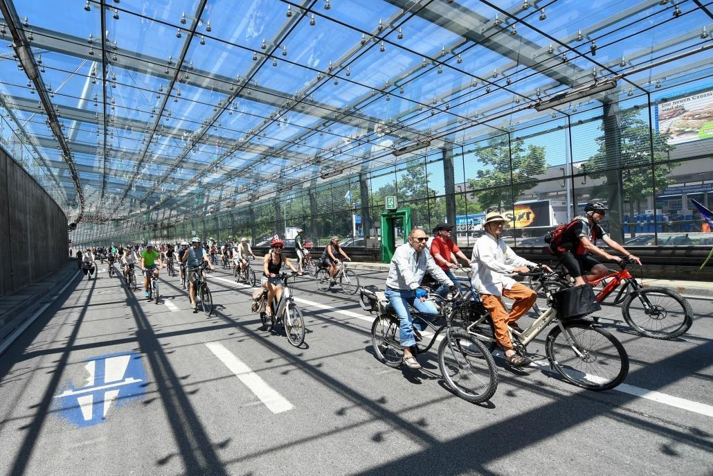 1. Münchner Rad-Ringdemo 2019