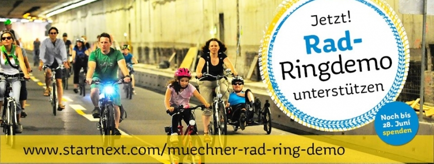 Rad-Ringdemo Crowdfunding