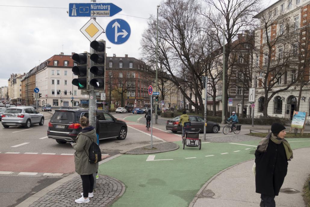 Baldeplatz-Radsicht-Grün